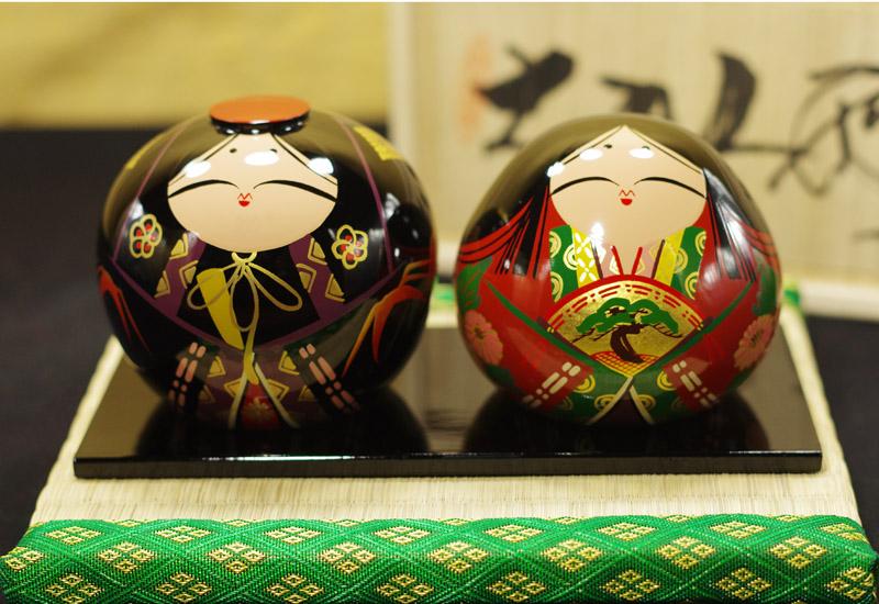 西日本一の大名「大内氏」の貿易を支えた「大内塗り」による「大内人形」